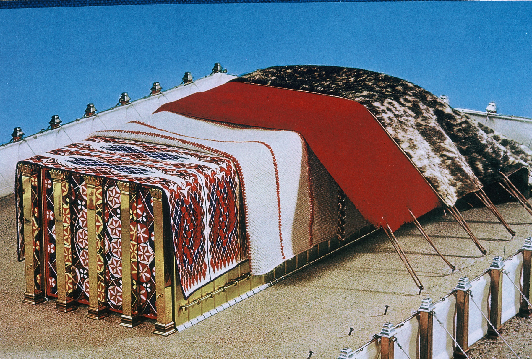 E26 3 What Was The Outermost Covering Of The Tabernacles Tent